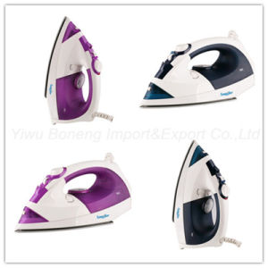 Steam Iron Kb-175 Electric Iron with Ceramic Soleplate (Purple) pictures & photos