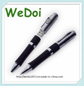 Promotional Pen USB Flash Drive with Customized Logo (WY-P07) pictures & photos