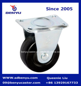 Durable Industrial Swivel Hard Rubber Caster Wheel pictures & photos