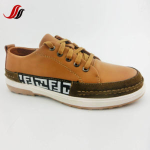 New Style High Quality Men′s Leather Shoes Casual Shoes (LZ12) pictures & photos