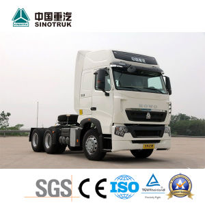 Popular Model HOWO T7h Tractor Truck with 8*4 pictures & photos
