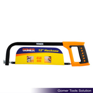 Double Color Plastic Handle Carbon Steel Good Price Hacksaw Frame (T09110)