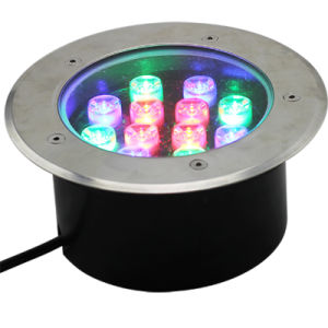 Outdoor Waterproof RGB LED Underground Light with Ce RoHS pictures & photos