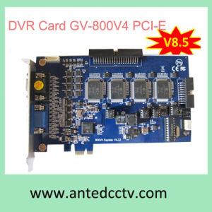 16 Channel Video Capture Card Gv-800V4 PCI-Express V8.5 for CCTV Security System pictures & photos