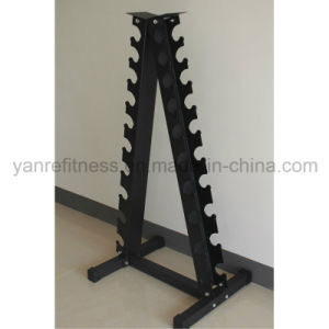 Hot Sale Gym Accessories Triangle Dumbbell Rack pictures & photos