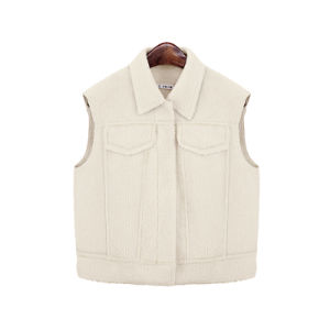 2016 New Single Breasted Wool Vest for Women