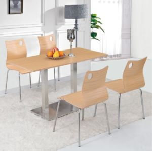 Four People Dining Room Furniture Dining Table Set pictures & photos