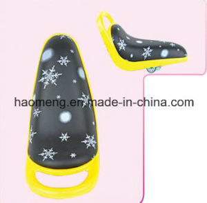 Children PU Saddle with Handle pictures & photos