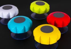 Wireless Flower Bathroom Waterproof Sound Suction Bluetooth Speaker pictures & photos