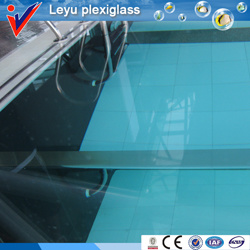 Custom Clear Thick Plexiglass for Swimming Pool pictures & photos