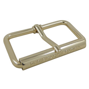Customized Metal Light Gold Pin Roller Buckle pictures & photos