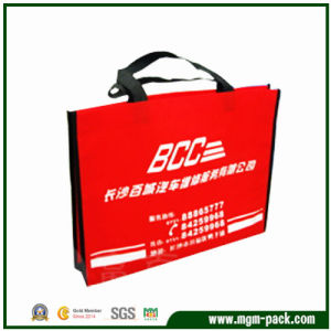 China Manufacturer Custom Red Non Woven Shopping Bag for Promotion pictures & photos