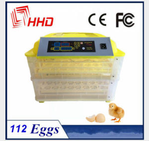 Hhd 112 Eggs High Efficient Mini Automatic Chicken Incubator Ce Approved pictures & photos