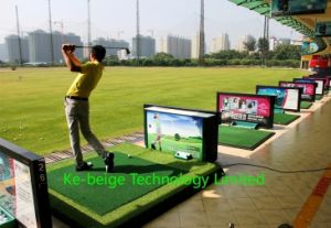 Auto Tee up Machine Automatic Golf Ball Dispenser for Club Fitting and Testing pictures & photos