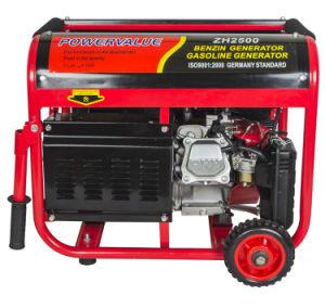 2kw Small Portable Gasoline Generator Benzin Generator pictures & photos