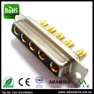 Machine Pin D-SUB Solder Type 5p 5W5