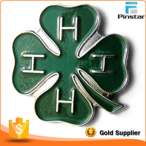 4-H Club Clover Irish Four Leaf Clover Lapel Pin pictures & photos
