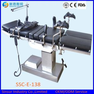 China Supply Electric O. T Surgical Hospital Operating Table pictures & photos