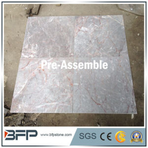 10mm Thick Marble Tile of Multicolor Grey for Polished Marble Wall Tile or Floor Covering pictures & photos