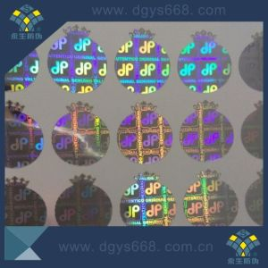 Serial Numbers 3D Hologram Sticker in High Quality pictures & photos