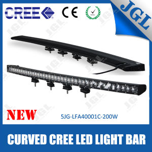 4D Single Row LED Light Bar 40′′ 200W with E-MARK