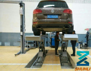 with Trolley Scissor Lift for 4 Wheel Alignment (SHL-Y-J-65X) pictures & photos