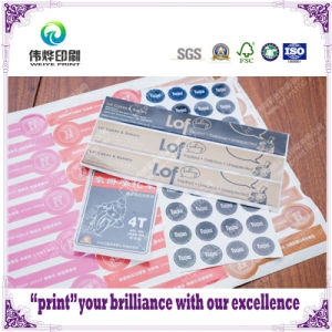 Waterproof High Quality Printing Adhesive Labels/Stickers pictures & photos