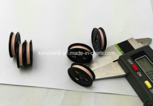 Plastic Flange Groove Nylon Cable Ceramic Guide Wire Roller/Pulley pictures & photos