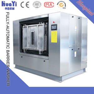 Commercial Hospital Barrier Washing Machine with Double Door pictures & photos