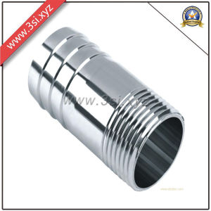 Stainless Steel Long Barrel Threaded Nipple (YZF-L122) pictures & photos