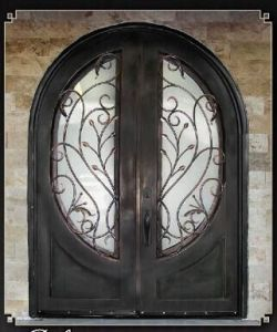 China Exterior Iron Doors for Home Use (UID-D163) - China Security ...