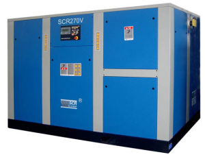 Variable Speed Driven Rotary/Screw Air Compressor (SCR250V Series) pictures & photos