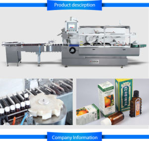 Cartoning Machine, High Speed Cartoning Machine