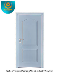 Modern Style Steel Door for Interior or Exterior with Cream Color (b-6034) pictures & photos