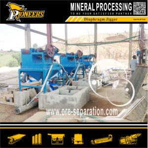 Gold Mineral Iron Ore Tin Mining Diaphragm Jig Beneficiation Plant pictures & photos