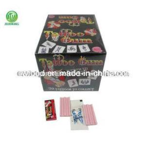 OEM Tutti-Frutti Sticker Tattoo Gum Candy pictures & photos