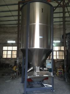 Plastic Industry Material Granule Stainless Steel Vertical Mixer pictures & photos
