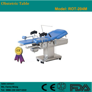 2015 Promotion! ! Electric Obstetric Table (ROT-204M) -Fanny pictures & photos