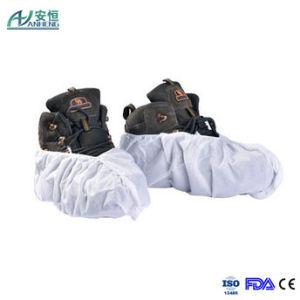 White Disposable Non Woven Shoe Cover as Customized pictures & photos