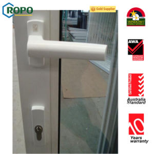 UPVC/ PVC Profile Bathroom Sliding Glass Door pictures & photos