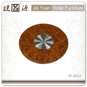 Duarable Crystal Hotel 4 Inch Lazy Susan (JY-Z002) pictures & photos