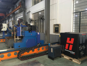 Hnc-4000 Gantry Plasma&Flame Steel CNC Cutting Machine pictures & photos