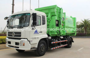 Hot Sale Hook Lift Arm Roll Garbage Truck Detachable Compartment pictures & photos
