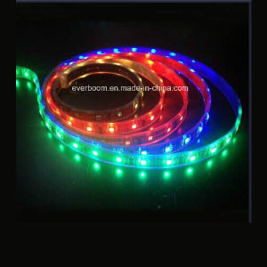 60LED RGB LED Strip Lighting with CE RoHS (ST5050-12-6003) pictures & photos