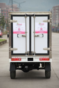China Manufacturer Closed Cargo Box Refrigerator Tricycle pictures & photos
