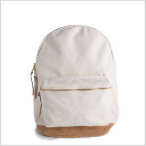 Polo School Backpack, Khaki Canvas Backpack, Fabric for Backpack Sh-15113020 pictures & photos