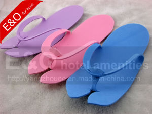 EVA Cheaper Disposable Simple Flip Flop Hotel Slippers pictures & photos