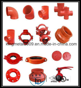 FM UL CE Approved Ductile Iron Grooved Fitting pictures & photos