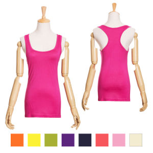 OEM Latest High Quality Cotton Women Sportwear Tank Top pictures & photos