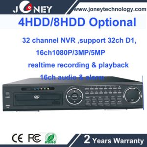 High Definition Network NVR 36CH Support Onvif and 4/8 SATA HDD pictures & photos